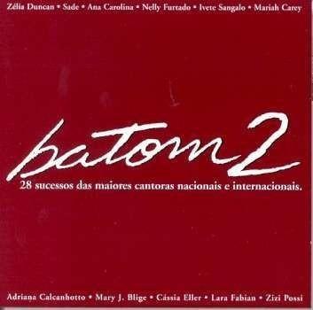 Cd - Batom 2 - Cantoras Nacionais/ Internacionais- Duplo Lac