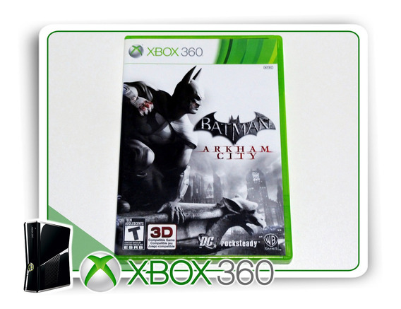 Batman Arkham City Original Xbox 360 - Mídia Física