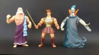 Lote X3 Figuras Hercules - Disney - Los Germanes