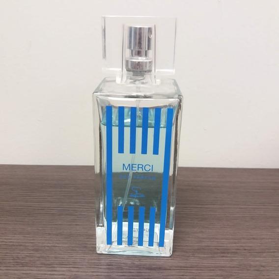 Perfume Masculino Jequiti Merci 90/100ml