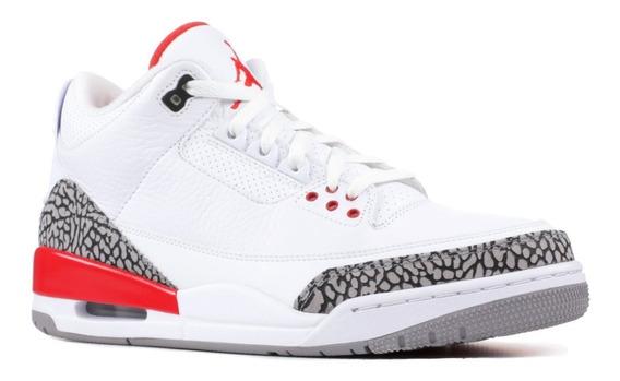 Tênis Nike Air Jordan 3 Retro Katrina