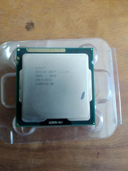 Processador Cpu Intel I3 2100 3.1ghz Usado Funcionando