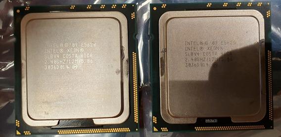 2 Intel Xeon E5620 2.40ghz Z800 Dl380 G7 T410 R710 T7500