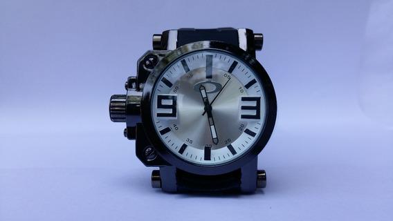 Relogio Esportivo Masculino Oakley Gearbox Titanium Kit 3uni