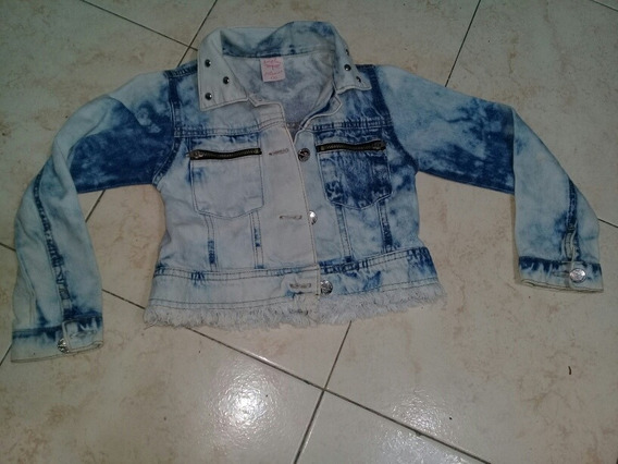 Campera Jeans Nena Talle 4.6 Años