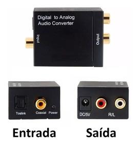 Conversor De Audio Digital Para Analogico P/ Digital