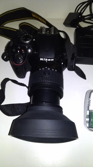 Kit Camera Nikon D3300, Microfone Externo, Acessorios Etc