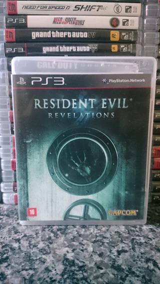 Resident Evil Revelations Ps3 Midia Fisica-frete R$10