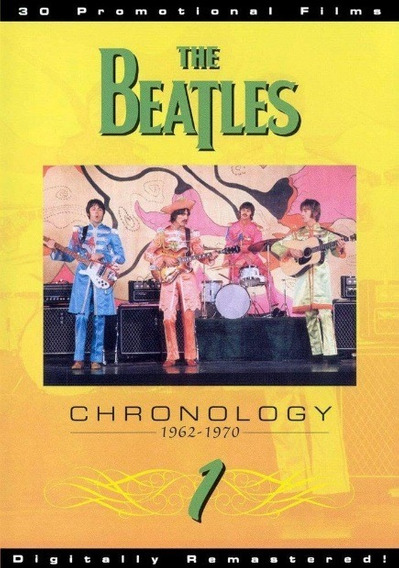 Dvd Show Musical - The Beatles Chronology 1962 - 1970