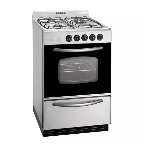 Cocina Domec Cxupv 56 Cm Acero Inoxidable Pta Vidrio A Gas