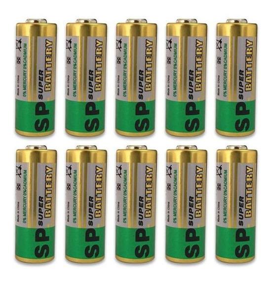 Bateria Pilha Sp 12v A23 10 Unidades