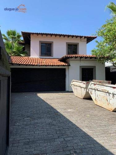 Imagem 1 de 26 de Sobrado Para Alugar, 287 M² Por R$ 22.000,00/mês - Pinheiros - São Paulo/sp - So1656