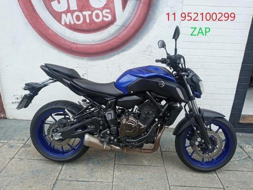 Yamaha Mt 07 2020 Azul