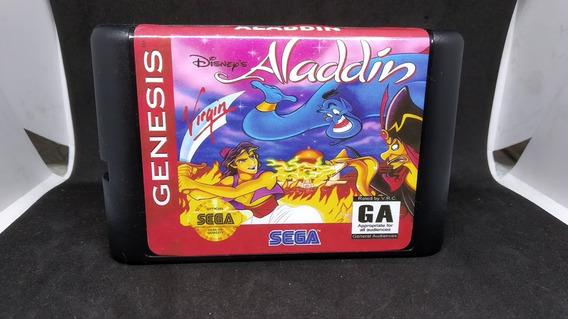 Fita / Cartucho Aladdin Mega Drive Pronta Entrega