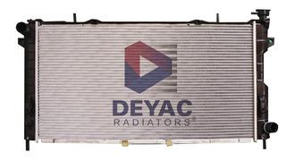 Radiador Chrysler Voyager 2002 2.4l Deyac T/m 32 Mm