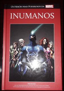Livro Marvel Heroes Ed. 39 - Inumanos