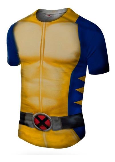 Remera Wolverine Slim Fit Ranwey Pr199