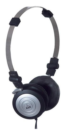 Fone De Ouvido Mini Head Phone K414p Profissional Com Bag