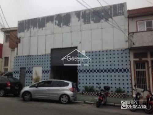 Imagem 1 de 5 de Excelente Salão Com 4 Salas Comerciais - Locação - Mooca - Código: 3923