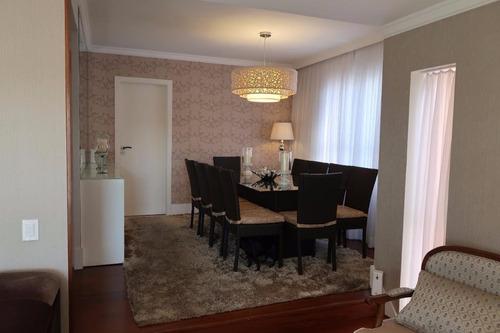 Imagem 1 de 30 de Apartamento À Venda, 145 M² Por R$ 1.400.000,00 - Tatuapé - São Paulo/sp - Ap0881