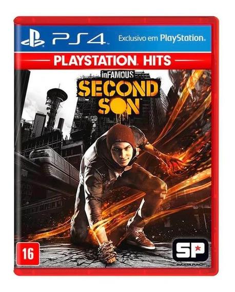 Jogo Infamous Second Son Playstation Hits Ps4 Mídia Física