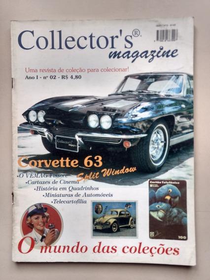 Revista Collector S 02 Miniaturas De Automoveis Corvette 224