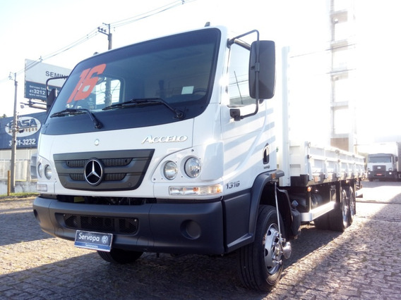 Mb 1316 Accelo Ano 2016 / Vw 13.180 Truck / Ford Cargo 1119