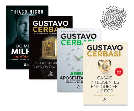 Kit Casais Inteligentes Enriquecem Juntos + Do Mil Ao Milhão