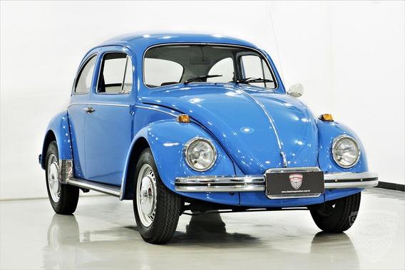 Vw Fusca 1500 1974 74 - Original - Antigo - Azul Safira