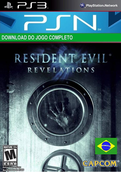 Resident Evil Revelation Ps3 Midia Digital Psn Leg Português