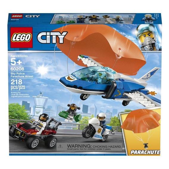 Lego 60208 Policía Aérea: Arresto Del Ladrón Paracaidista
