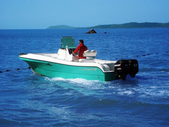 Lancha Fly Fish 230 Yamaha 200hp 4c Mont. Básica 0 Km