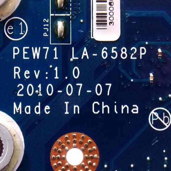 Placa Mãe Acer Aspire 5733z Pew71 La-6582p Testada 100%
