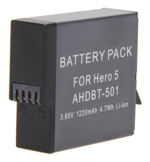 Bateria Recarregavel Extra Gopro Hero 5 6 7 Black Go Pro
