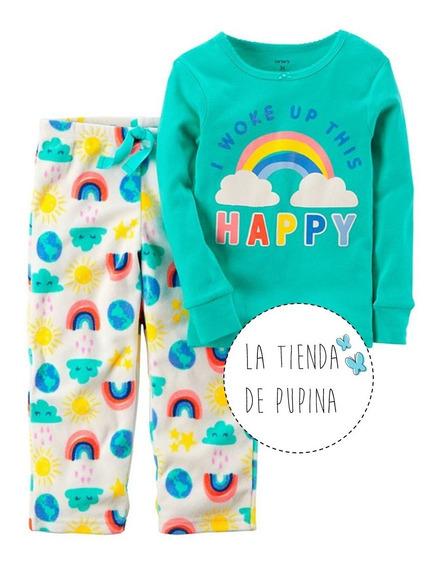 Pijama Carter´s Nena Micropolar Rainbow Arcoiris