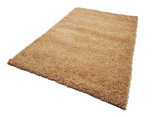 Carpeta Alfombra Super Shaggy Beige 100 X 150 Cm Soul