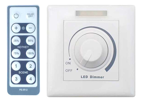 Interruptor Giratório Do Dimmer Led Emissor De Led 100w Com