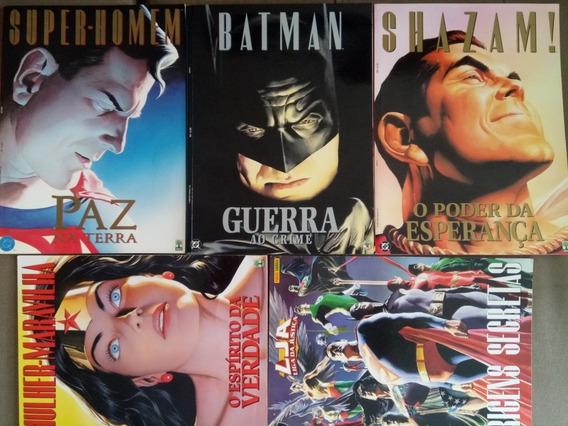 Hqs Coleção Grafhic Novels Super Novas Jm.gibis-raros