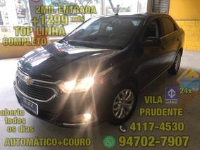 Gm Chevrolet Cobalt Elite 1.8 Automático Couro 2mil Ent+1299