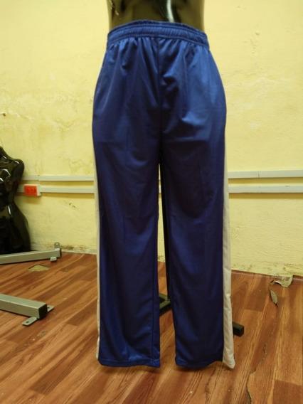 Pants Deportivo Pantalon Caballero Azul T-34