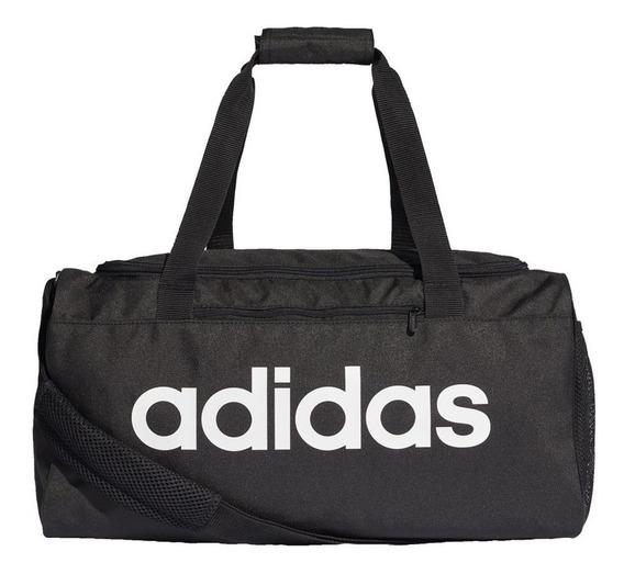Mala adidas Linear Core Preto Dt4826 Bolsa Futebol