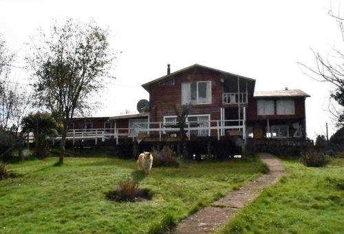 Imagen 1 de 6 de 2,45 Has Parcela Con Casa De Campo Sector De Llau Llao. Cast