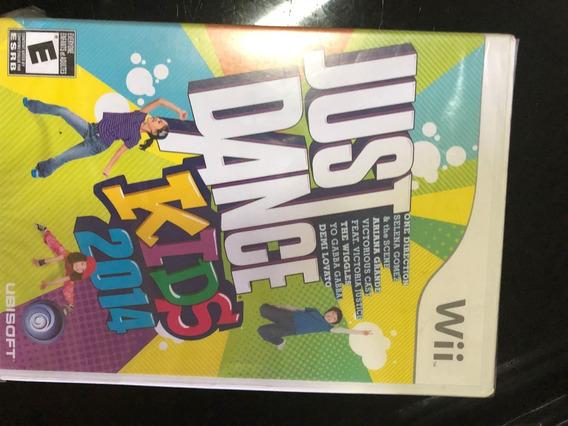 Jogo Para Nintendo Wii Just Dance Kids 2014 Lacrado
