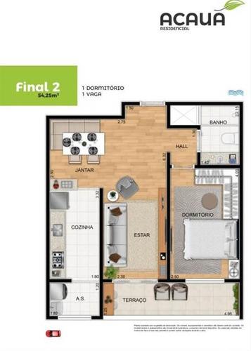Imagem 1 de 9 de Apartamento - Venda - Campo Da Aviação - Praia Grande - Ter60