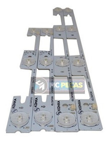 Kit Barras Led Tv Semp Toshiba 32l2400 Dl3244 Dl3245original