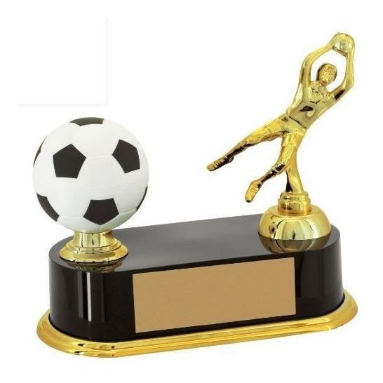 Trofeu Futebol Goleiro Jogador E Bola - Premiação
