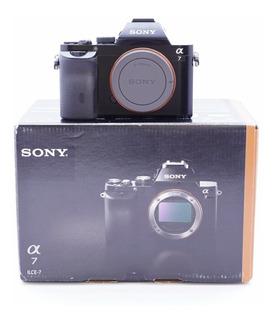 Cámara Sony Alpha 7k (ilce-7k) +sd16gb +kit Limpieza