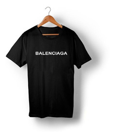 Kit Três Camisetas Balenciaga Versace E Givenchy