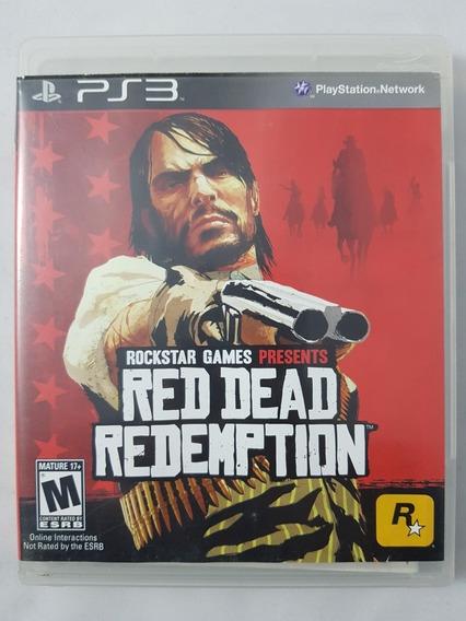 Red Dead Redepmtion Ps3 Mídia Física Pronta Entrega