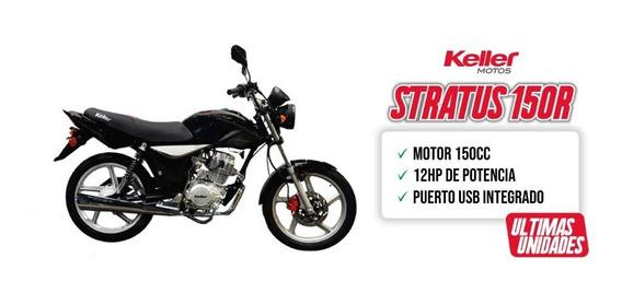 Keller Stratus Cg 150 R Full 0km Zanella Unomotos Linea 2020